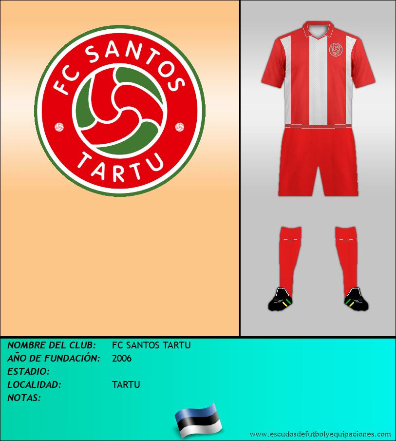 Escudo de FC SANTOS TARTU