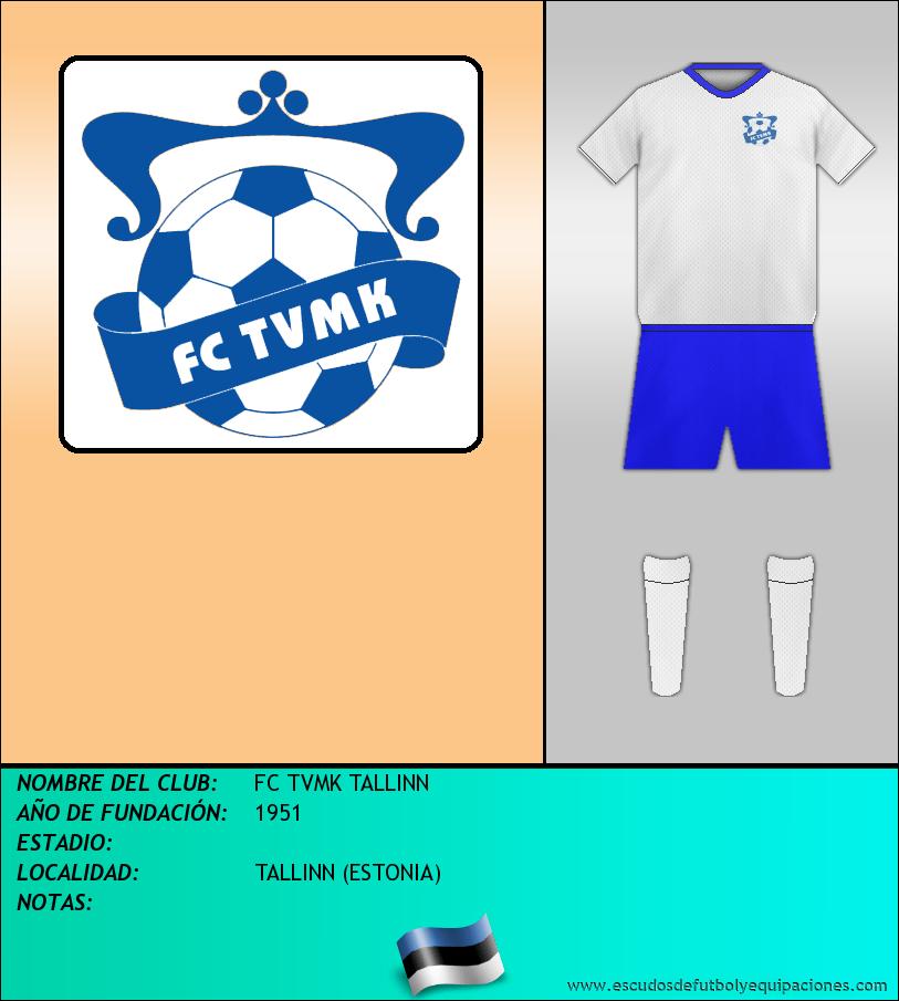 Escudo de FC TVMK TALLINN