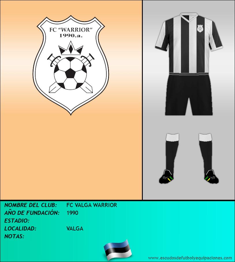 Escudo de FC VALGA WARRIOR