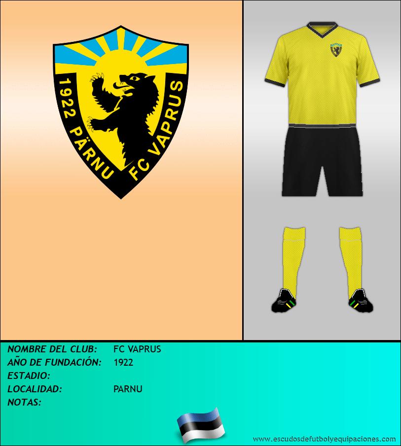 Escudo de FC VAPRUS