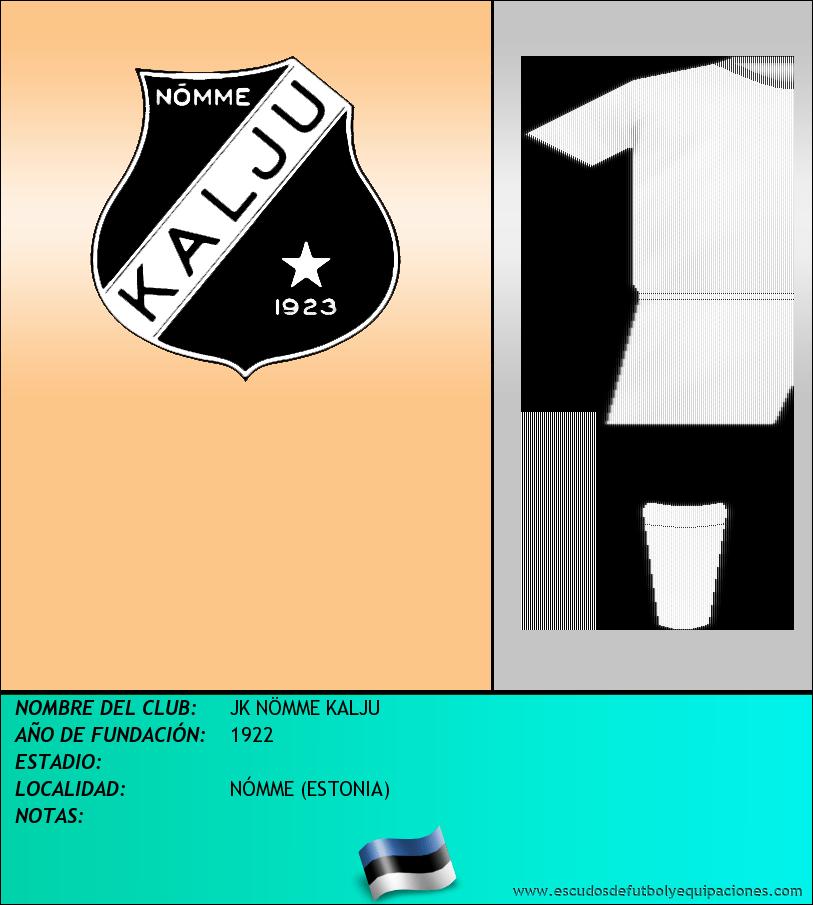Escudo de JK NÖMME KALJU
