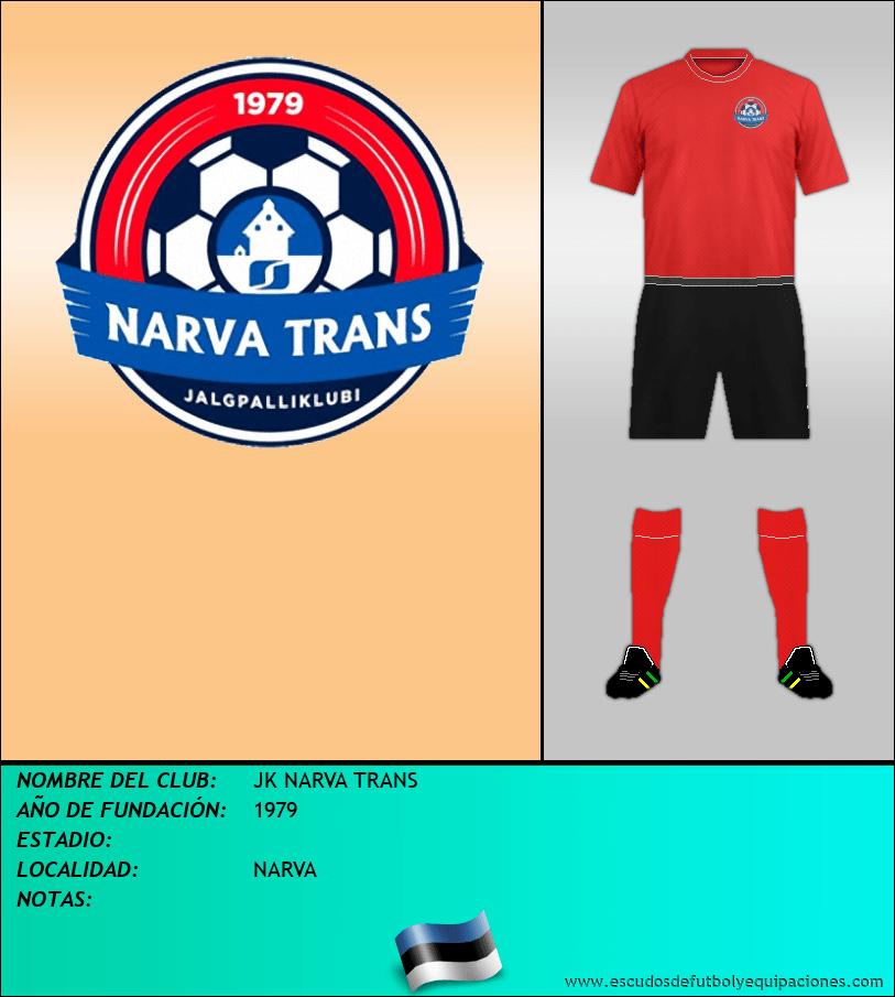 Escudo de JK NARVA TRANS
