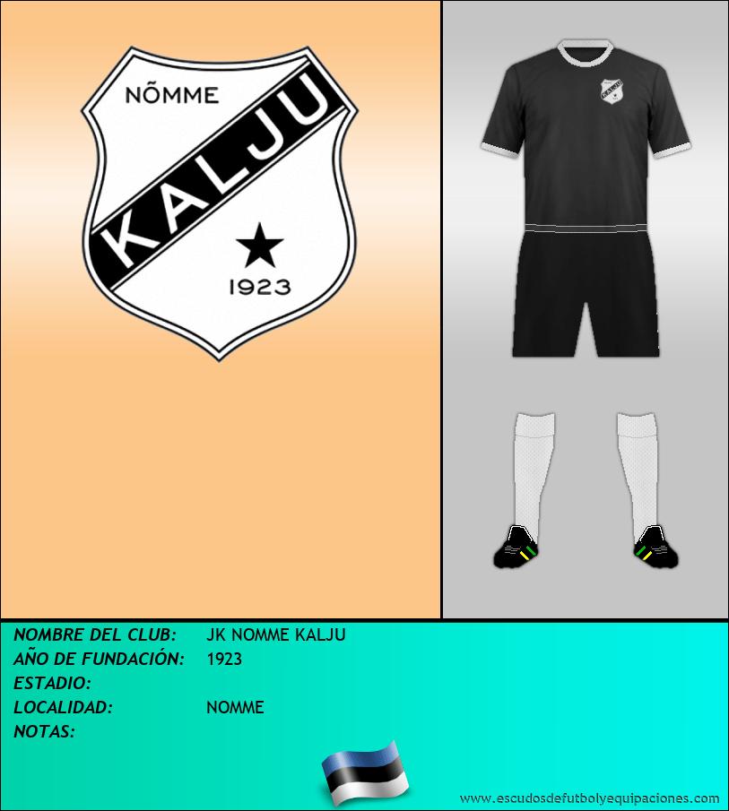 Escudo de JK NOMME KALJU