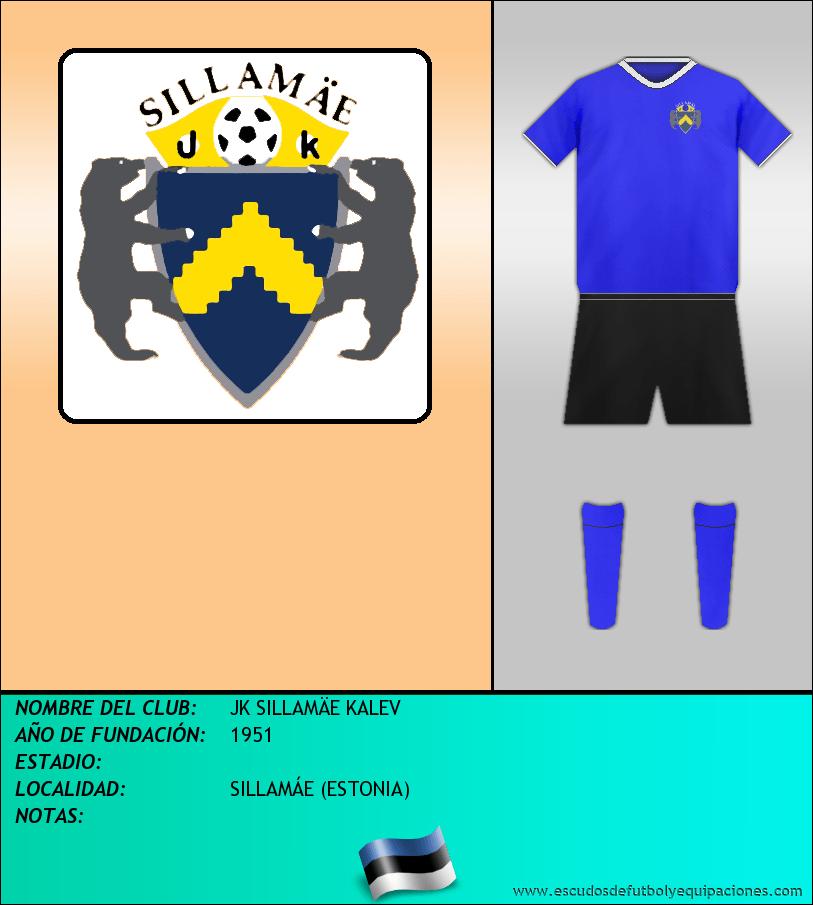 Escudo de JK SILLAMÄE KALEV