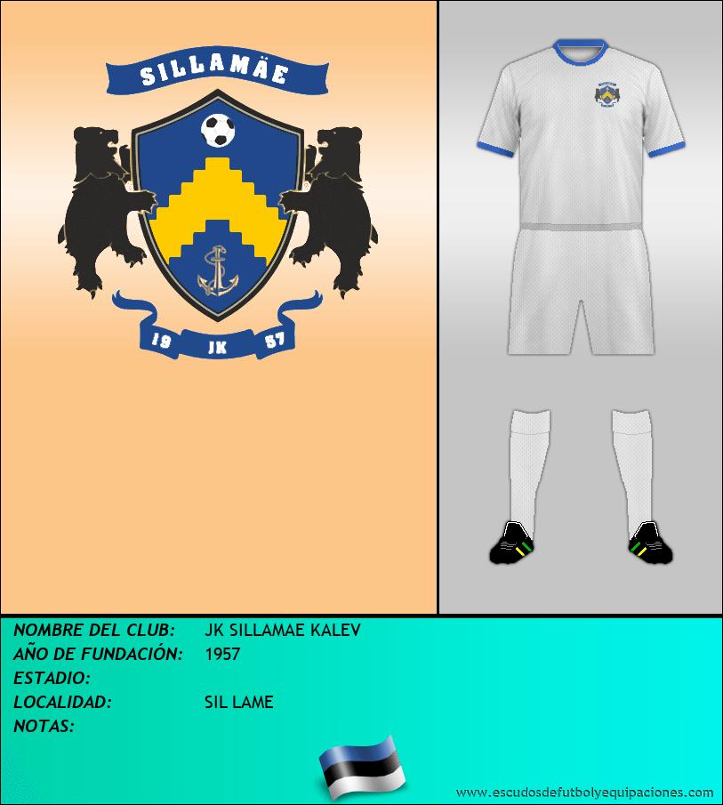 Escudo de JK SILLAMAE KALEV