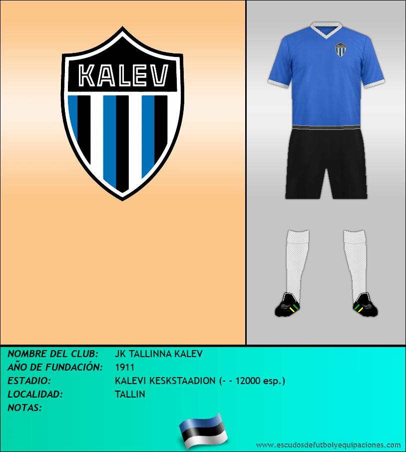 Escudo de JK TALLINNA KALEV