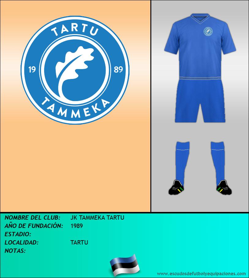 Escudo de JK TAMMEKA TARTU