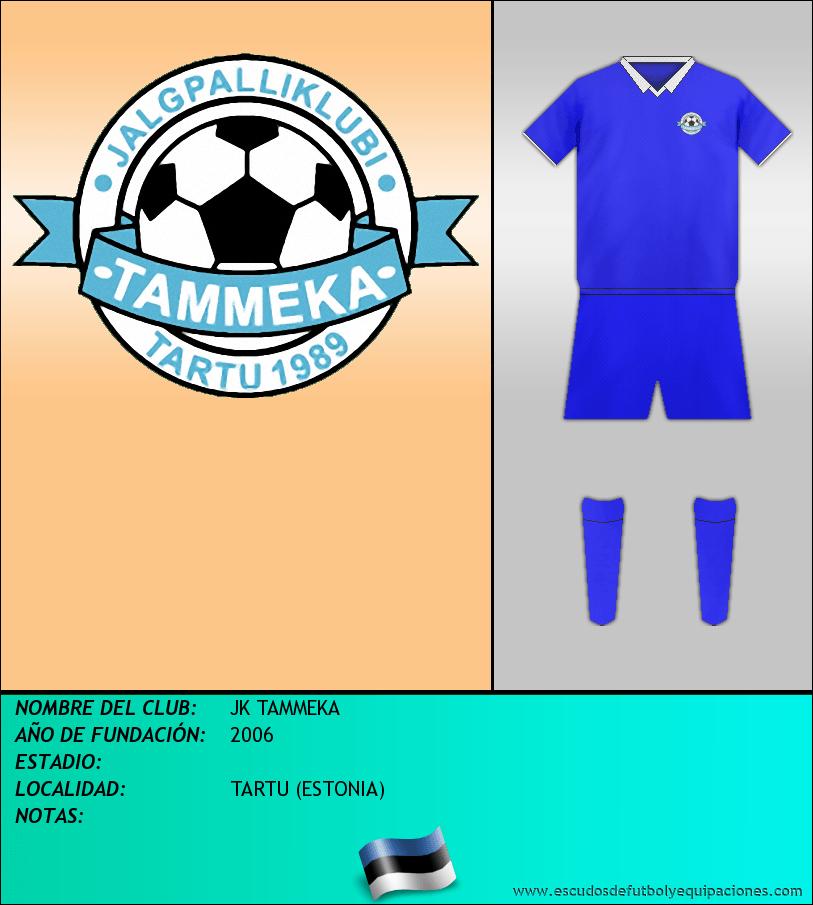 Escudo de JK TAMMEKA