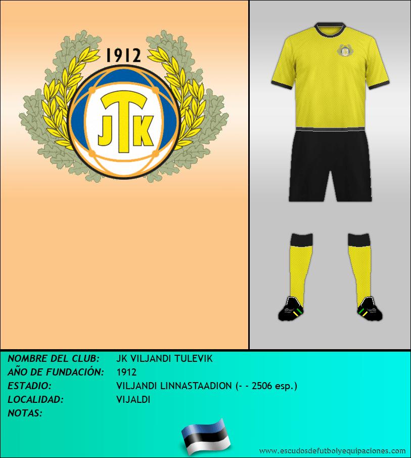 Escudo de JK VILJANDI TULEVIK
