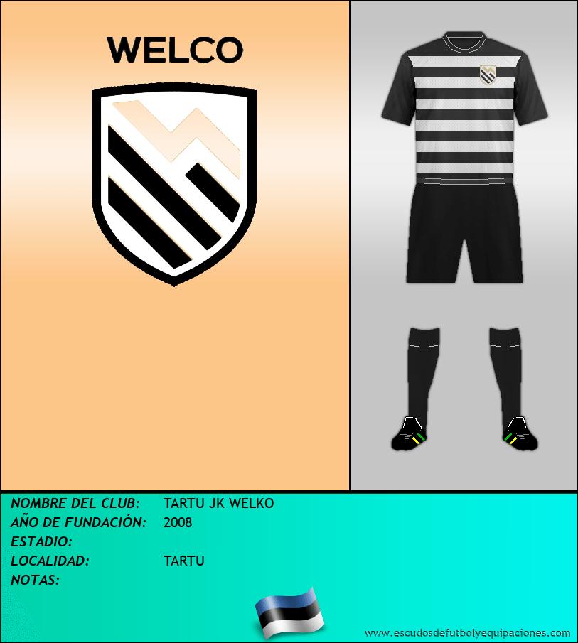 Escudo de TARTU JK WELKO
