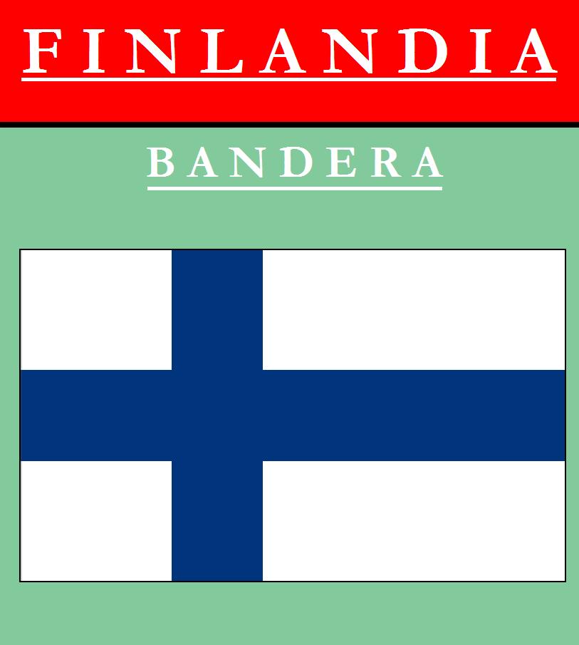 Escudo de BANDERA DE FINLANDIA