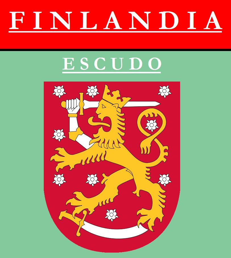 Escudo de ESCUDO DE FINLANDIA