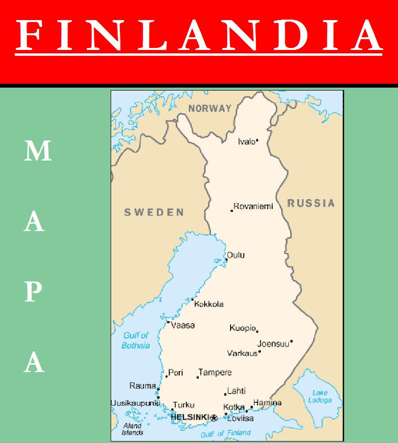 Escudo de MAPA DE FINLANDIA