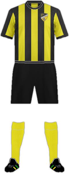 Equipación FC HONKA