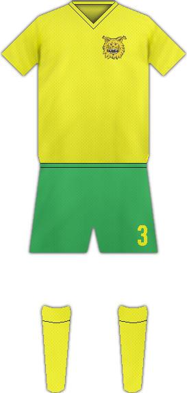 Equipación FC ILVES TAMPERE