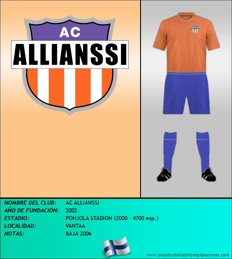 Escudo de AC ALLIANSSI