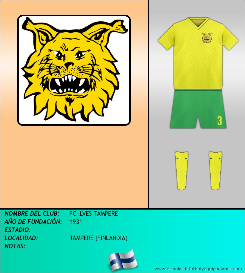 Escudo de FC ILVES TAMPERE