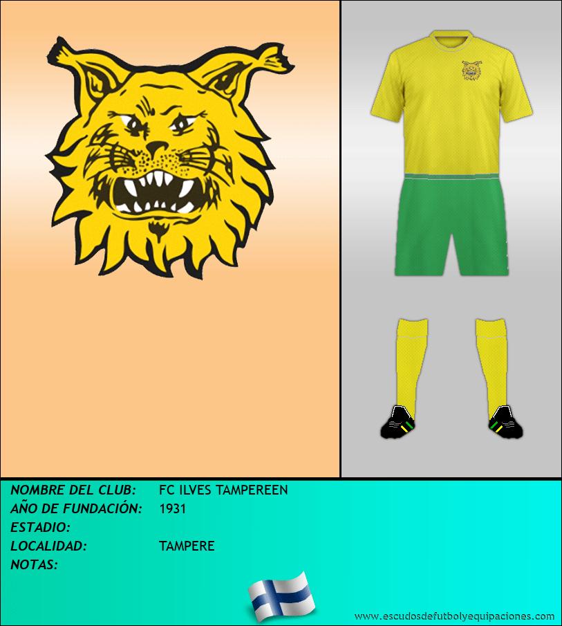 Escudo de FC ILVES TAMPEREEN