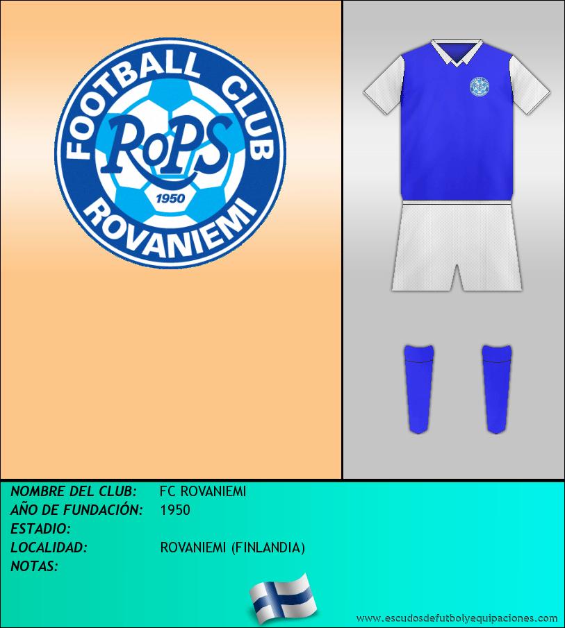 Escudo de FC ROVANIEMI