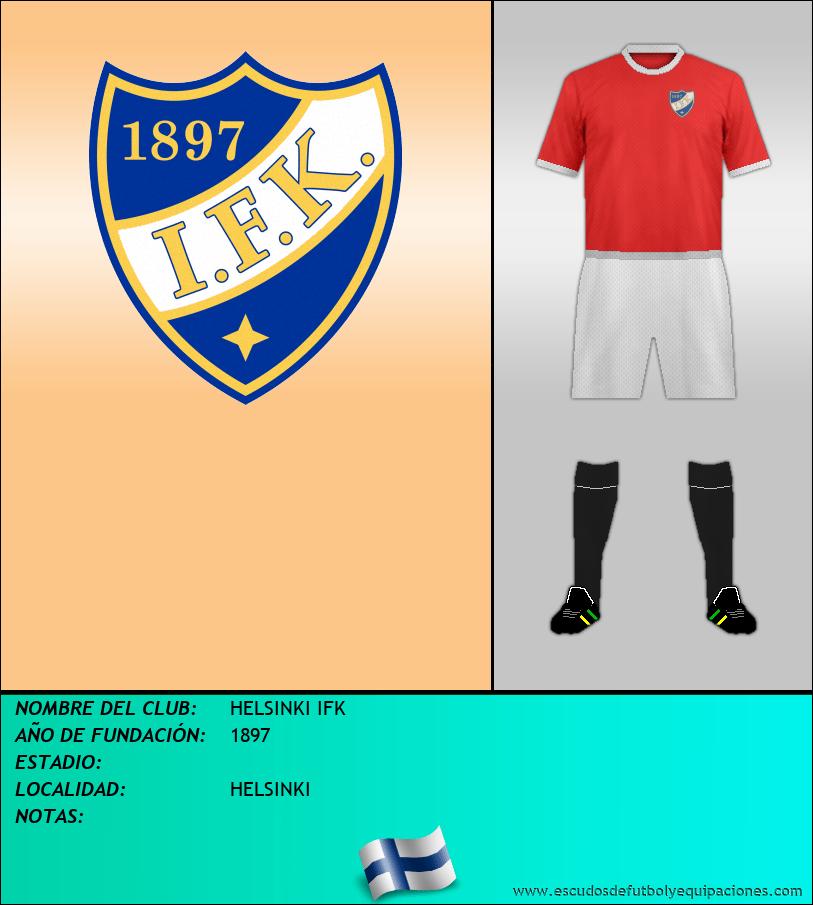 Escudo de HELSINKI IFK