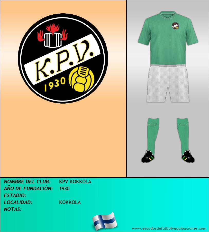 Escudo de KPV KOKKOLA