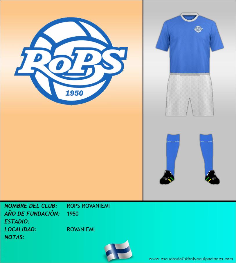 Escudo de ROPS ROVANIEMI