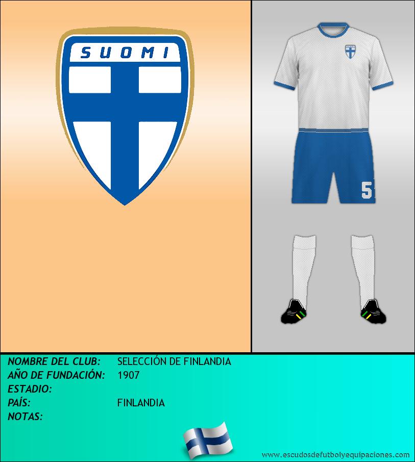 Escudo de SELECCIÓN DE FINLANDIA