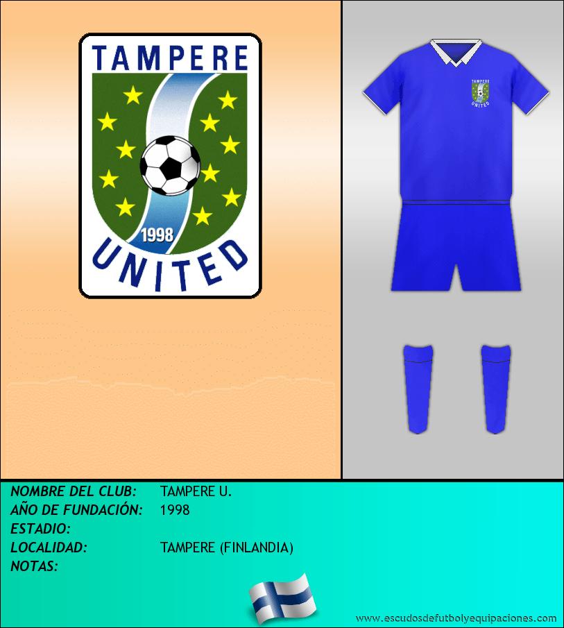 Escudo de TAMPERE U.