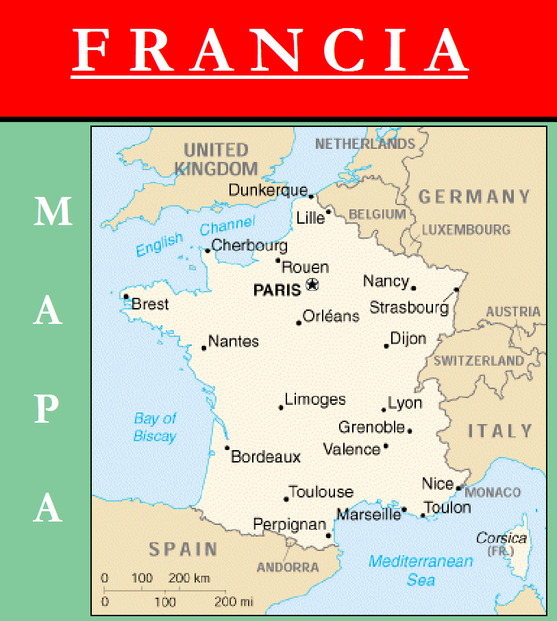 Escudo de MAPA DE FRANCIA