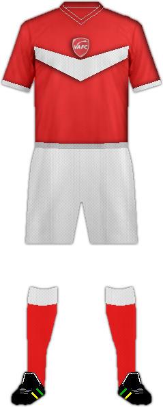 Equipación VALENCIENNES FC