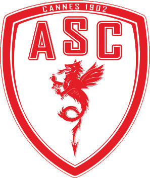 Escudo de A.S.C. CANNES (FRANCIA)