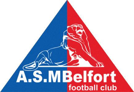Escudo de A.S.M. BELFORD F.C. (FRANCIA)