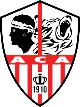 Escudo de AC AJACCIO (FRANCIA)