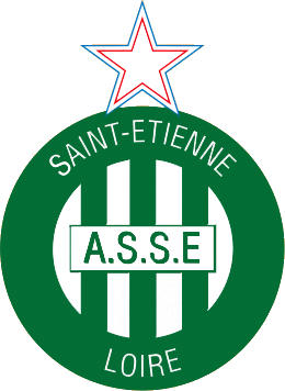 Escudo de AS SAINT ÉTIENNE (FRANCIA)