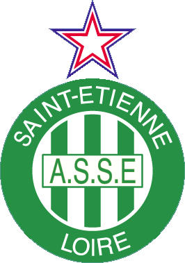 Escudo de AS SAINT-ETIEENE (FRANCIA)