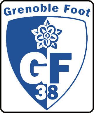 Escudo de GRENOBLE FOOT-38 (FRANCIA)
