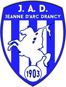 Escudo de J.A. DRANCY F.C. (FRANCIA)