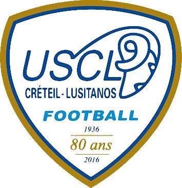 Escudo de U.S. CRÉTEIL-LUSITANOS (FRANCIA)