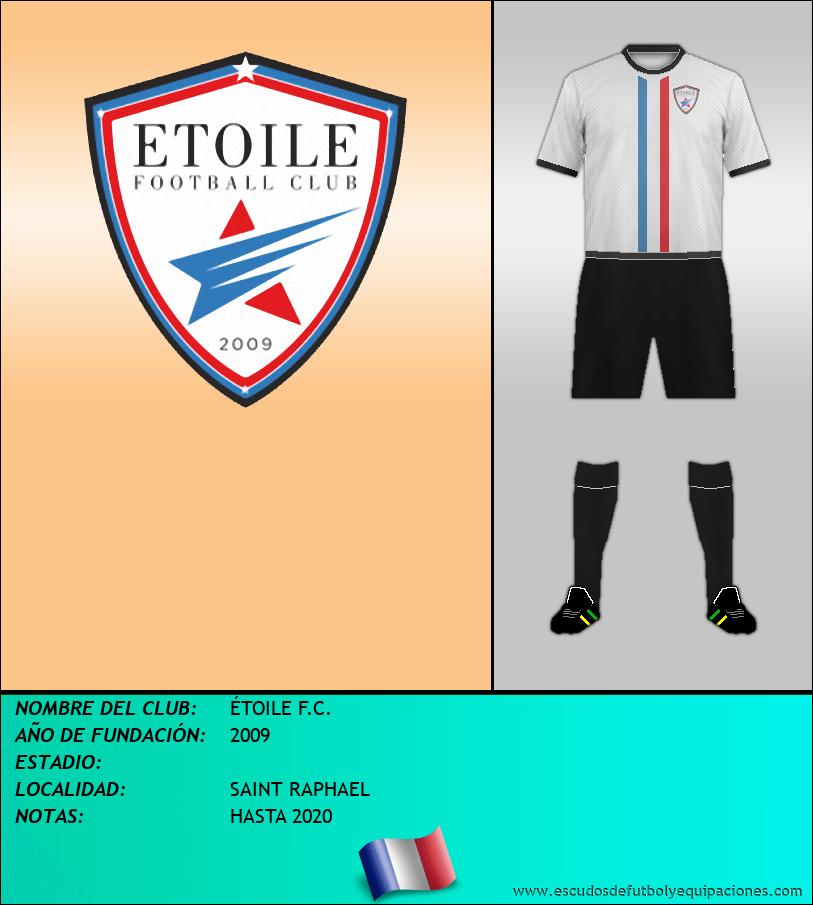 Escudo de ÉTOILE F.C.
