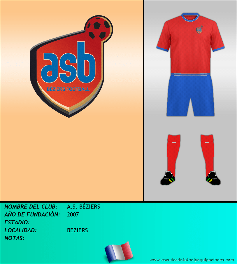 Escudo de A.S. BÉZIERS