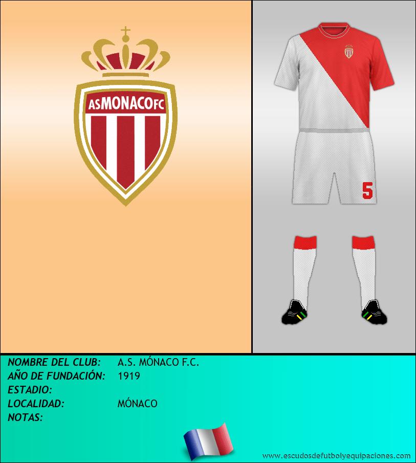 Escudo de A.S. MÓNACO F.C.