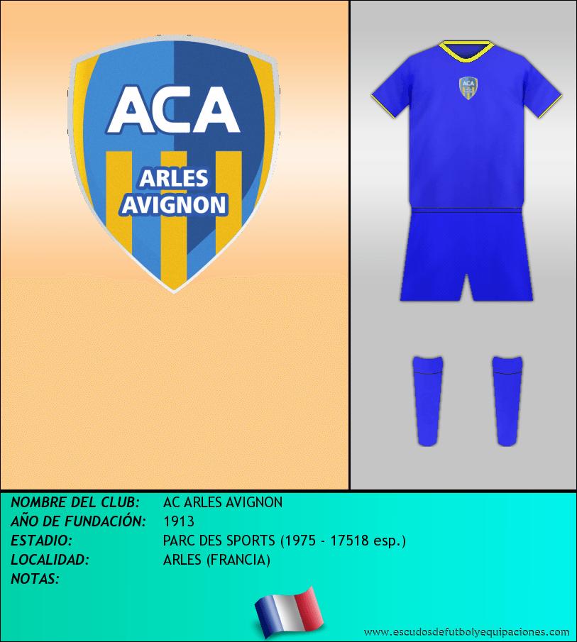Escudo de AC ARLES AVIGNON