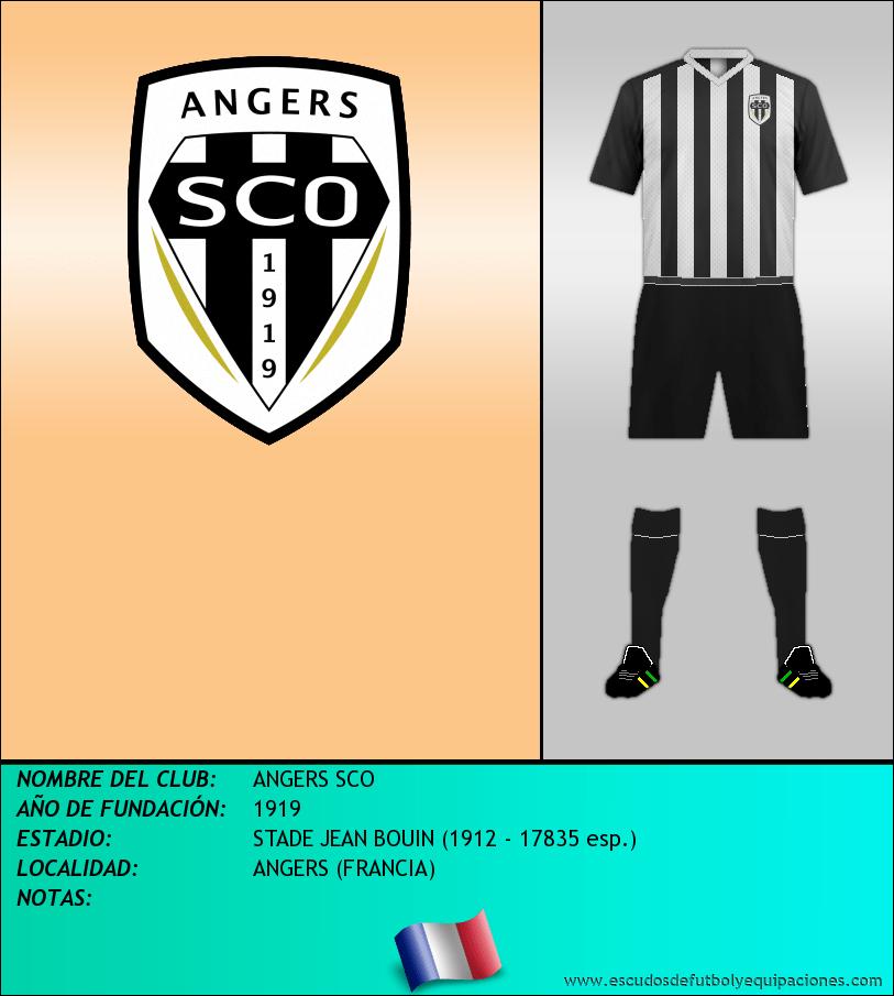 Escudo de ANGERS SCO