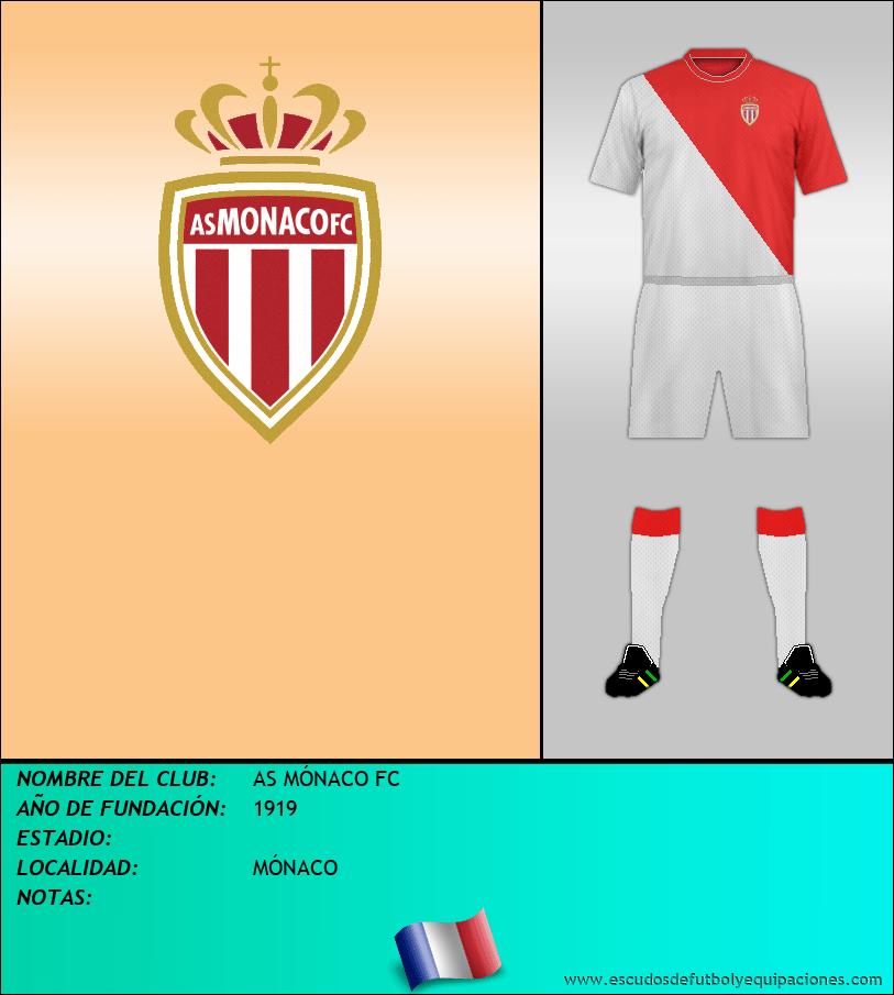 Escudo de AS MÓNACO FC