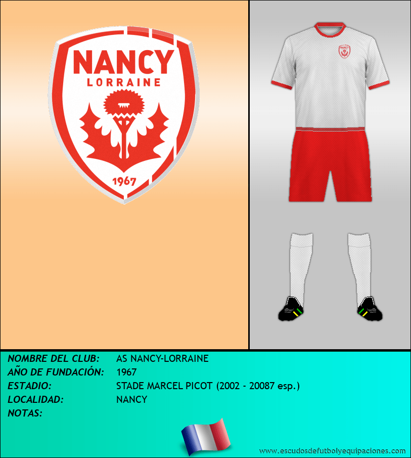 Escudo de AS NANCY-LORRAINE