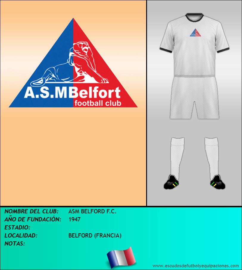 Escudo de ASM BELFORD F.C.