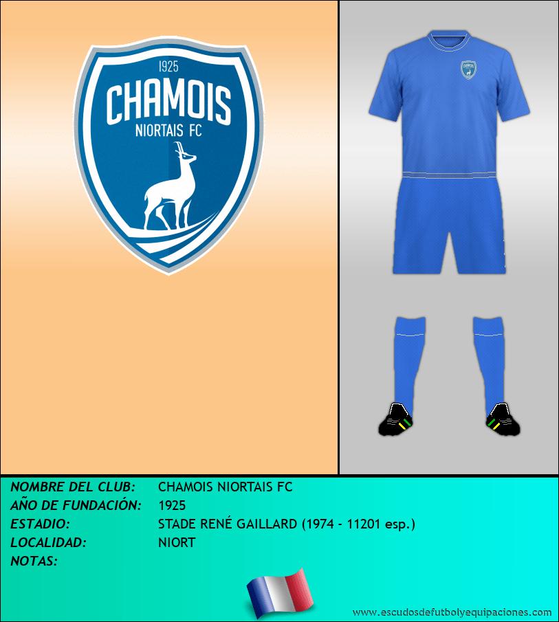 Escudo de CHAMOIS NIORTAIS FC