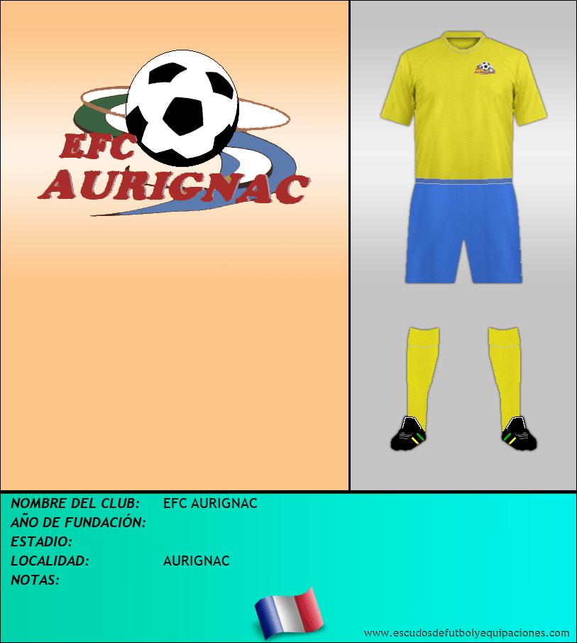 Escudo de EFC AURIGNAC