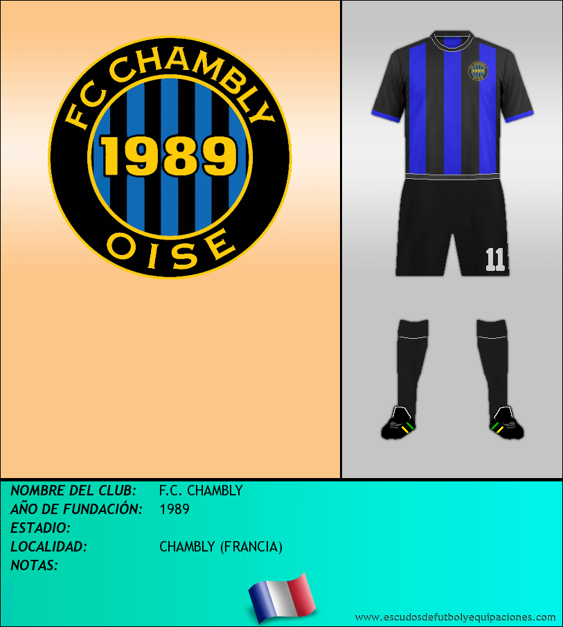 Escudo de F.C. CHAMBLY