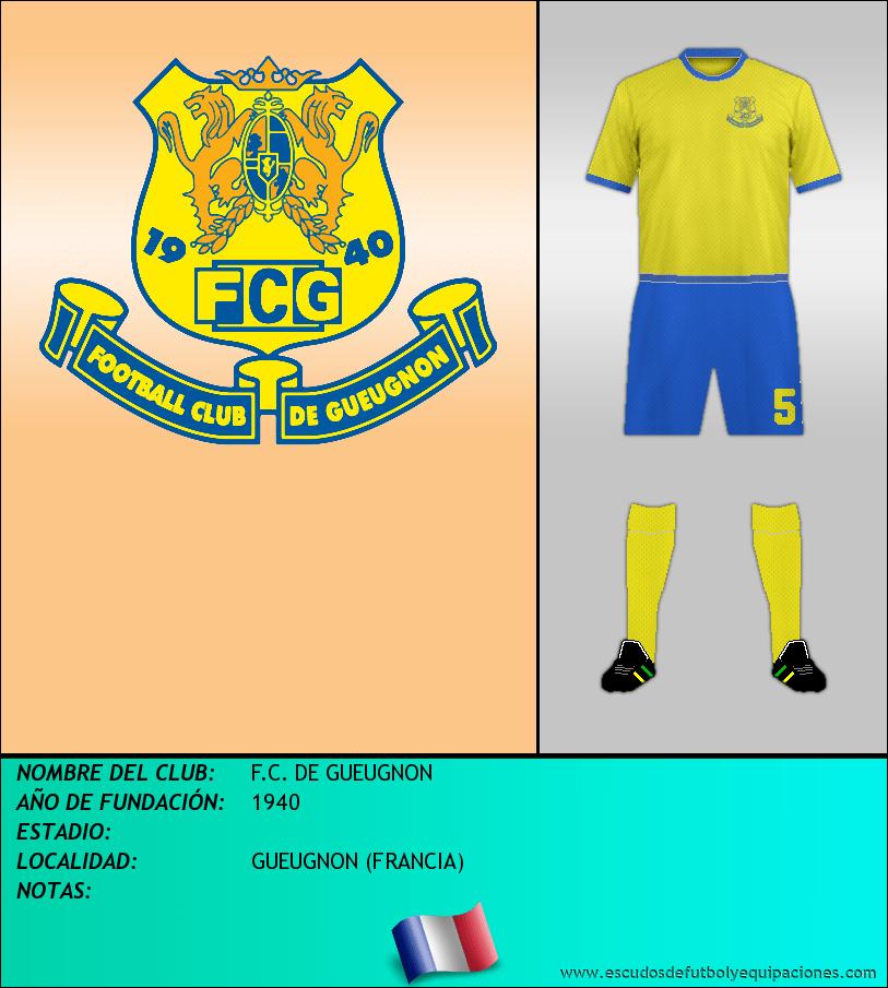 Escudo de F.C. DE GUEUGNON